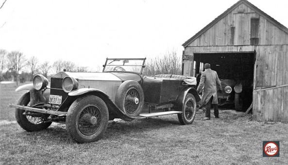 Rolls Silver Ghost - 50 HP Simplex Barn Find