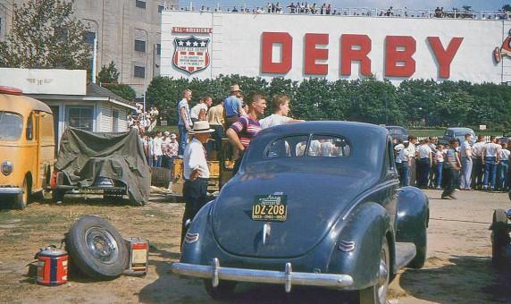 Soapbox 1953 Akron, Ohio Prewar Ford Coupe