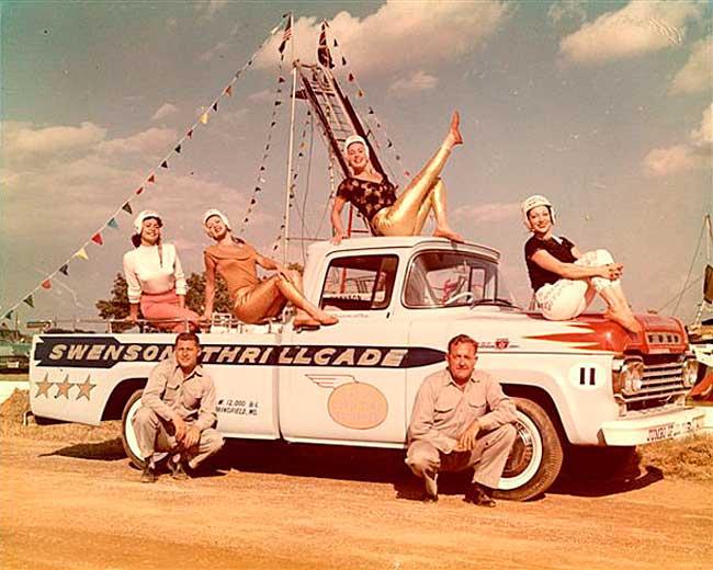 Swenson Thrillcade 1950s Ford Pickup