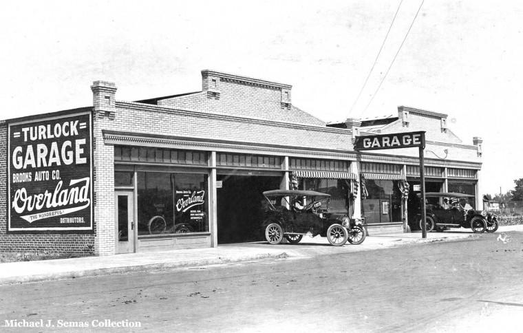 The Turlock Garage Circa 1913
