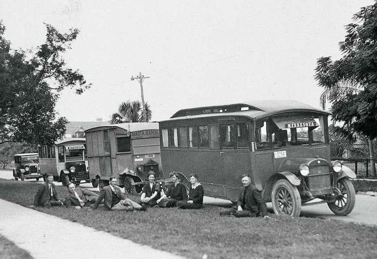 1920s House Cars on Truck Chassis'