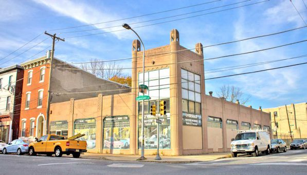 1929 Philly Art Deco Auto Dealership Building1