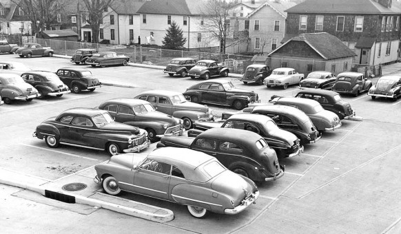 1930s and 1940s Cars - Parking Lot