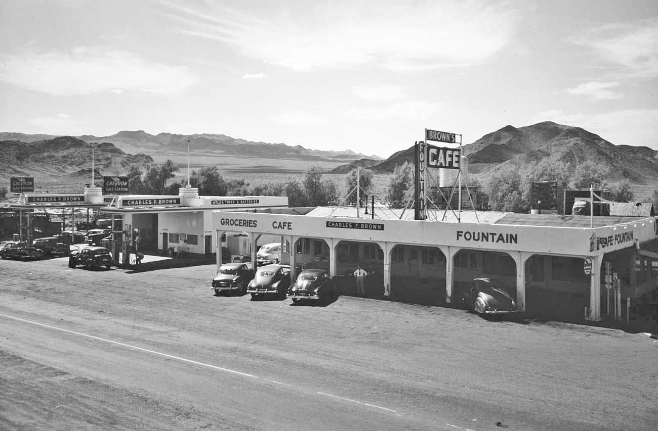 Death Valley Gasoline Food And Accommodations For