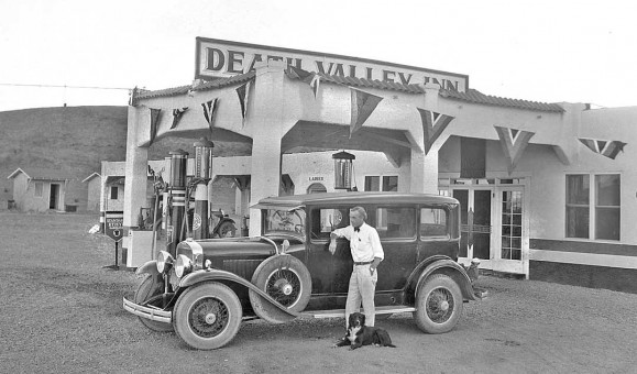 Death Valley Inn and Gas Station Baker Nevada 1930