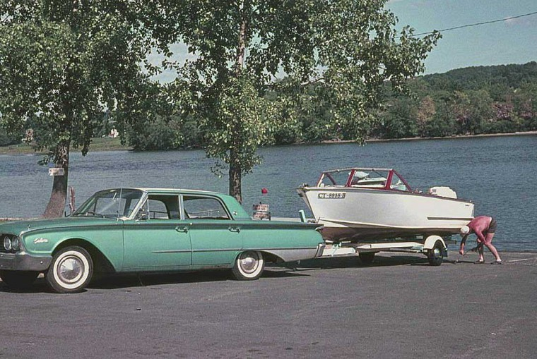 Early-1960s Ford Sedan