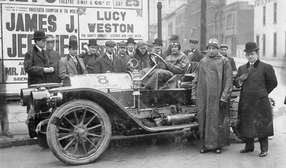 Guy Vaughn - Stearns Car 1909 NY to Boston Run