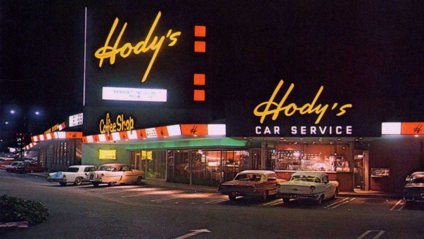 Hody's Coffee Shop and Drive In 1961