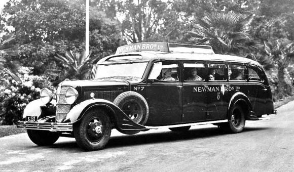 Mid-1930s Cadillac Bus
