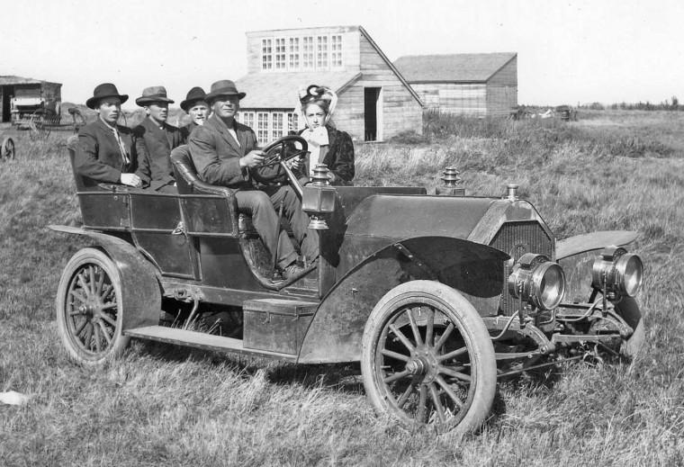 Mystery Circa 1906 Touring Car
