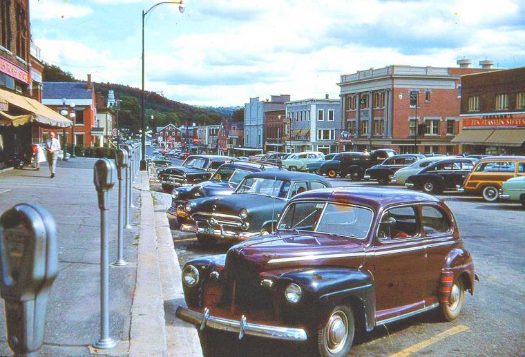 Four Fun 1950s And 1960s Friday Kodachrome Car Images