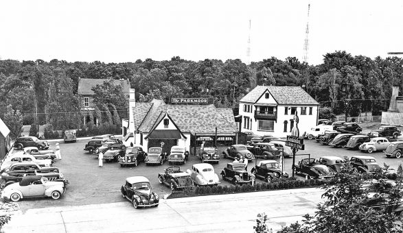 The Parkmore Drive-in and Table Service St. Louis Circa 1939