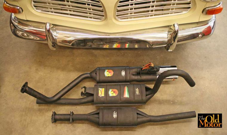 Volvo 122s Abarth Exhaust System-1