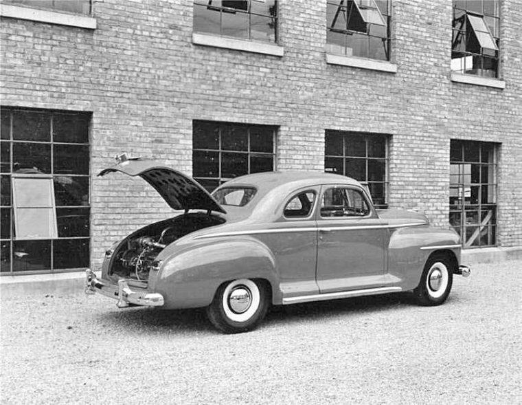 1940s Plymouth South Bend Lathe Salesman's Car-I