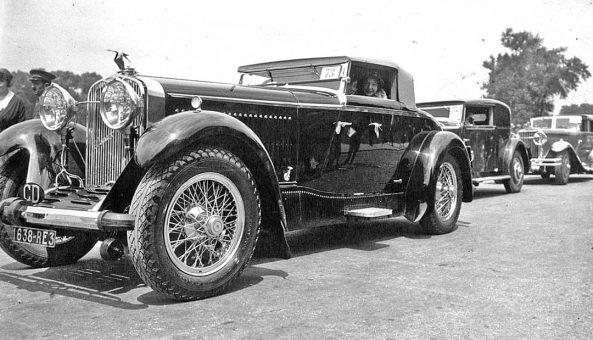 C1932 Hispano-Suiza Convertible Coupe with Custom Coachwork