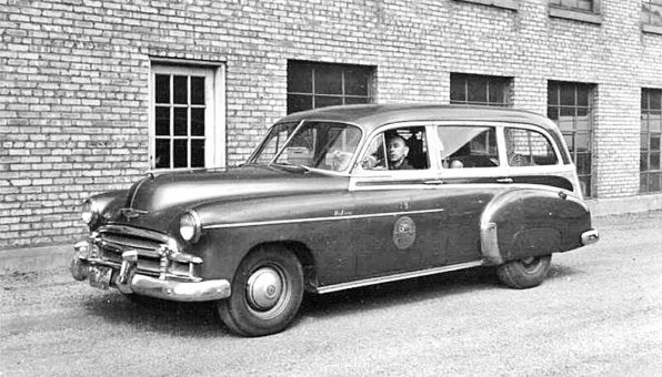 Circa 1951 South Bend Machine Tool Chevrolet Saleman's Car