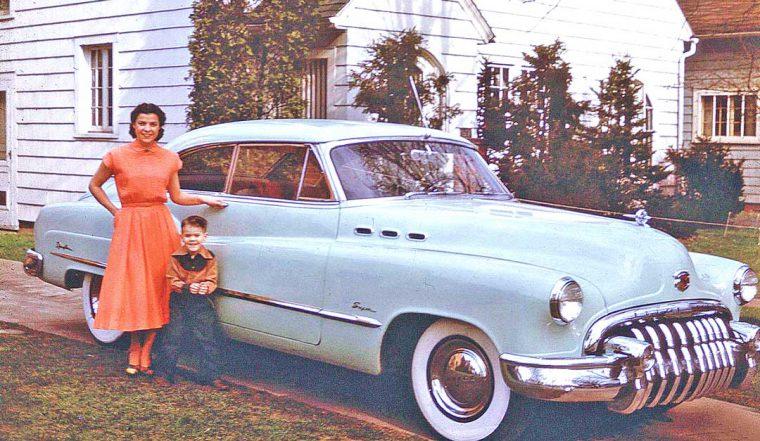 Early-1950s Buick Two Door Hardtop