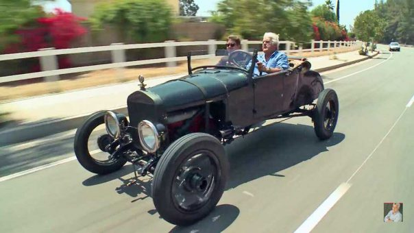 Jay Leno and Clayton Paddison's Model T Gow Job