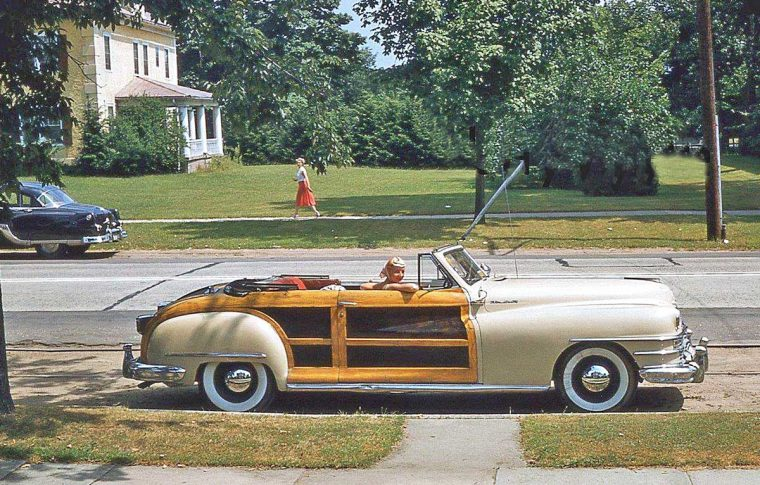 Late Forties Chrysler Town and Country