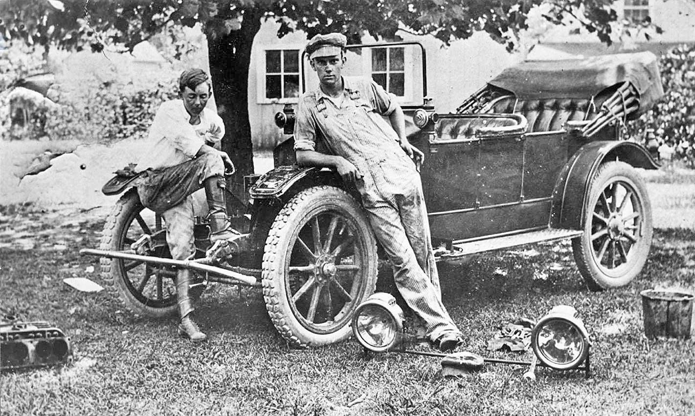 Shade Tree Mechanic | The Old Motor