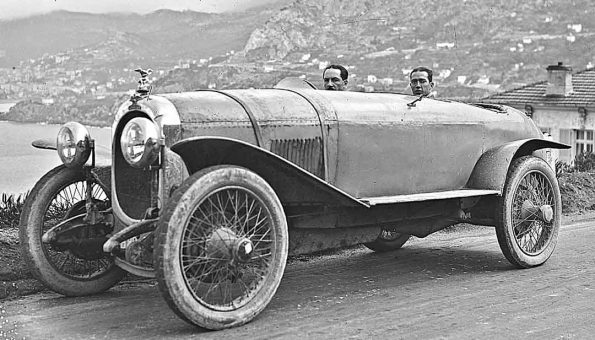 Mystery 1920s French Torpedo Car