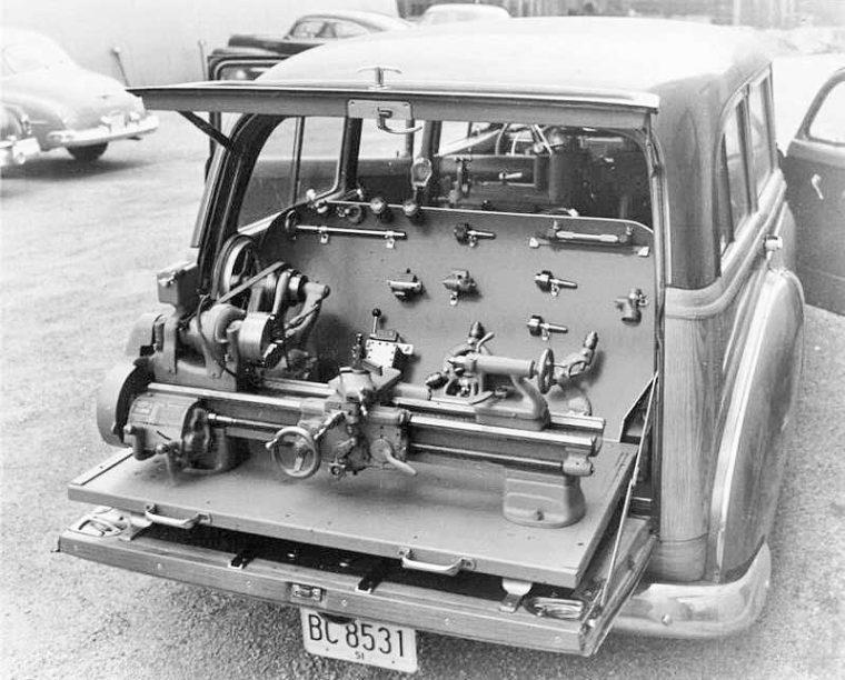 South Bend Lathe Chevrolet Saleman's Car 1951