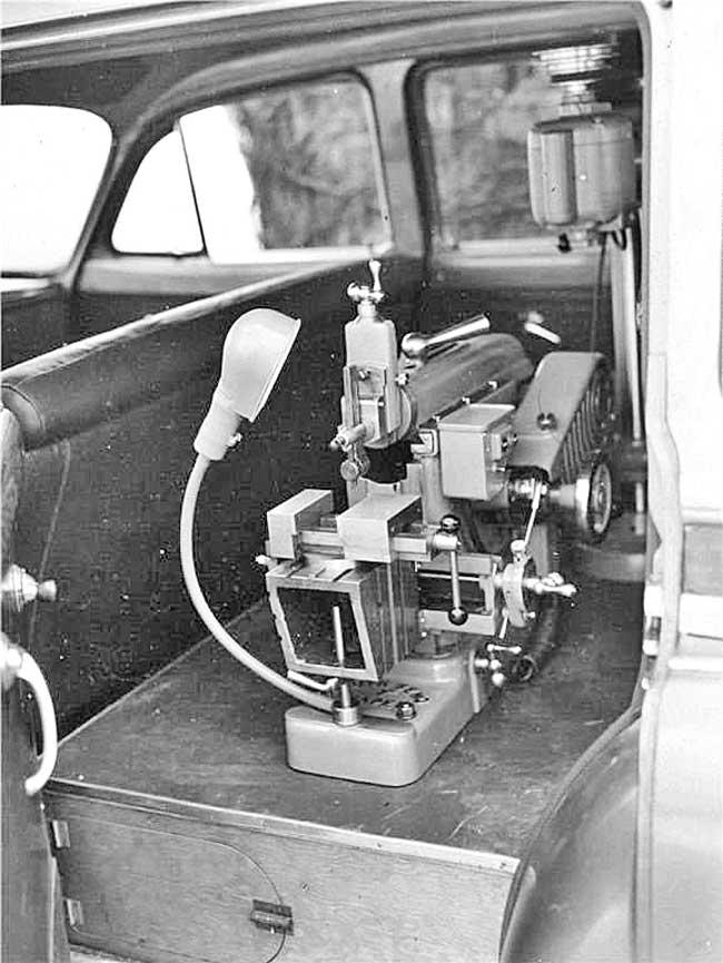 South Bend Shaper & Drill Press 1951