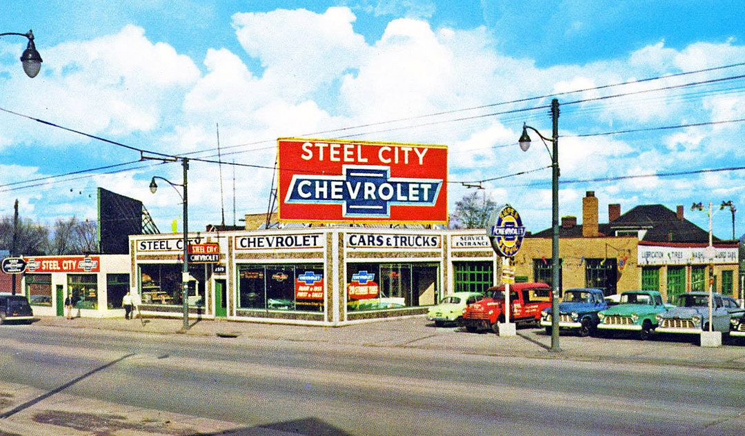 Four Fun Friday 1950s And 60s Kodachrome Car Images The