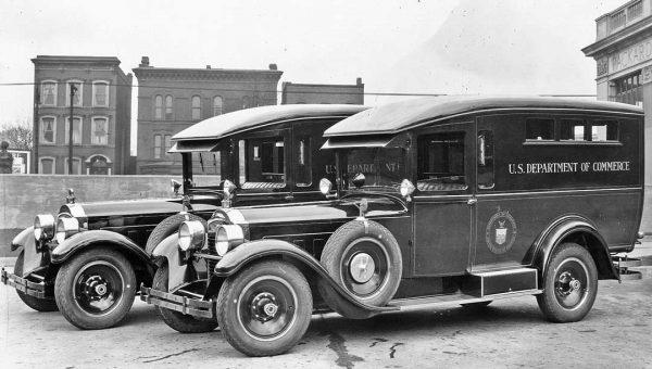 1928 Packard 443 Panel Trucks