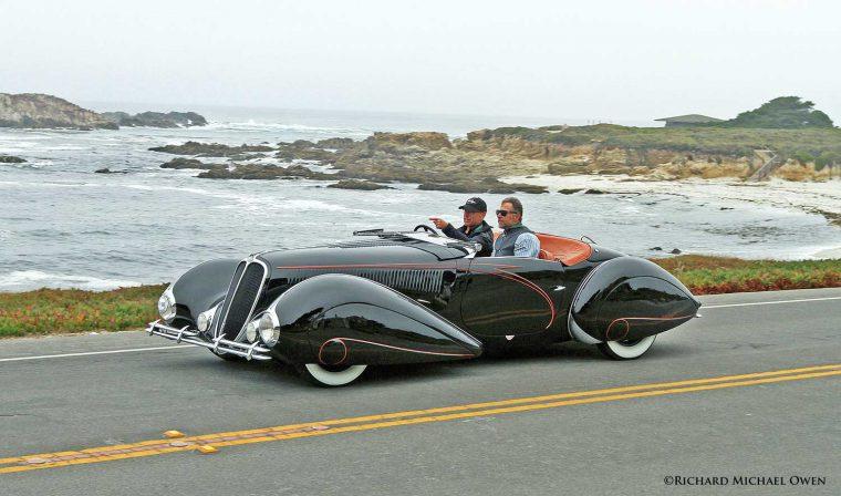 1938 Delahaye 135 M Cabriolet with coachwork by Figoni et Falaschi