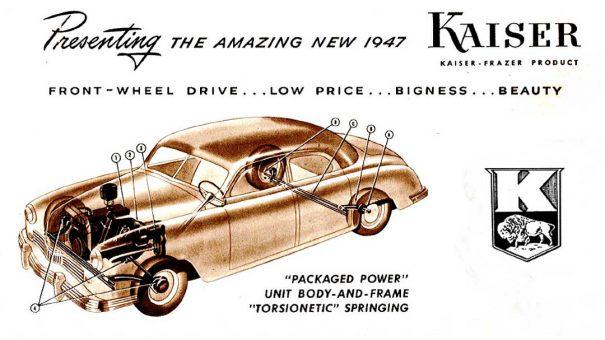 1947 Kaiser Front-Wheel Drive