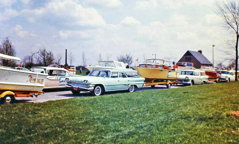 1950s and 1960s Cars and Boats