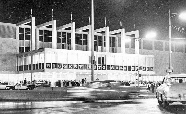 Detroit Auto Show Cobo Hall 1960-2