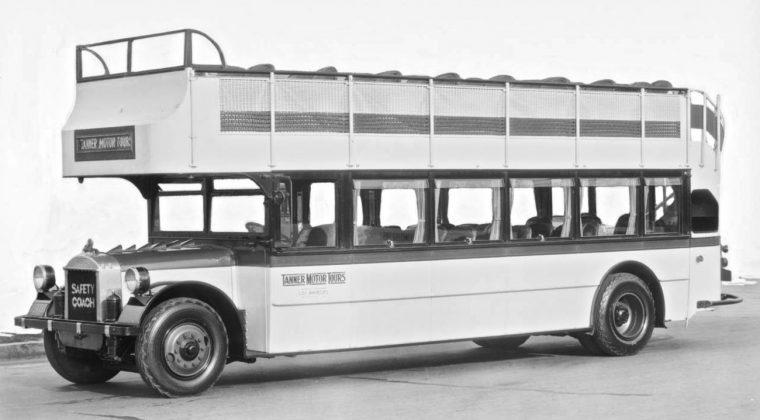 Fageol Double Decker Bus
