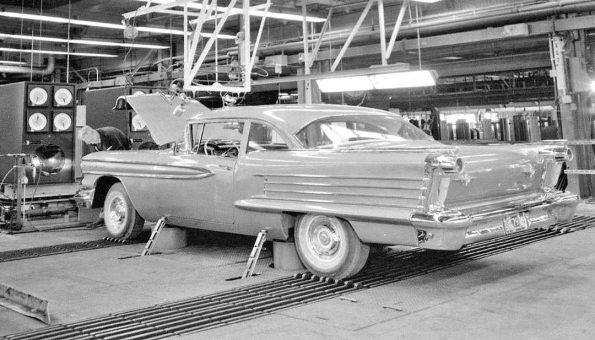 GM Testing Laboratory - 1958 Oldsmobile