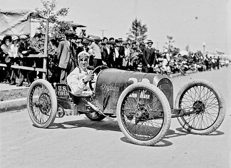 Harry Hartz Indian Baby Vanderbilt Racing Car I