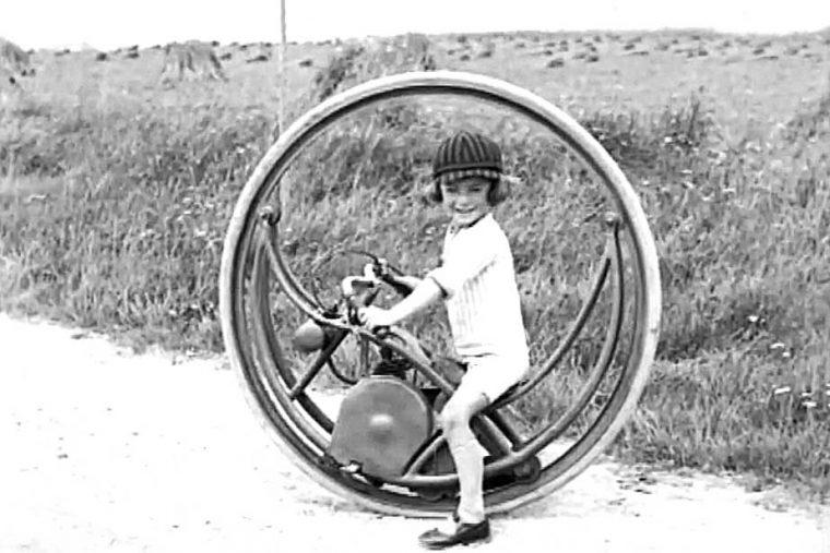 Kiddies Mono-wheel