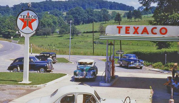 1950s Texaco Gas Station | The Old Motor