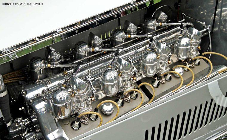 Miller V-16 Racing Engine