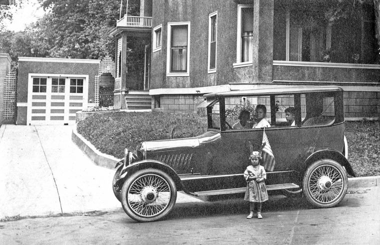 Mystery 1920s Center Door Sedan