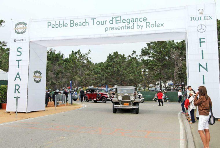 Packard Town Car -Rolls Royce Tourer 2016 Pebble Beach Tour