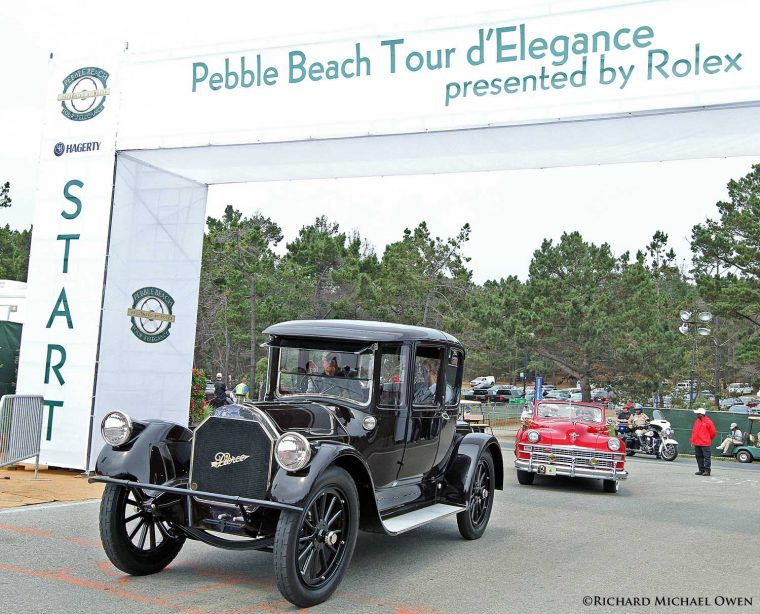 Pierce-Arrow Coupe - Chrysler Town and Country Ferrari and a Locomobile Model 48 2016 Pebble Beach Tour