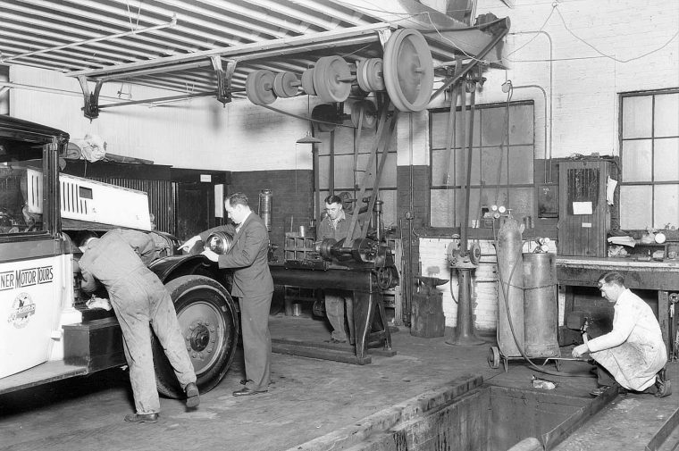 Tanner Motor Tours Service Garage 1930