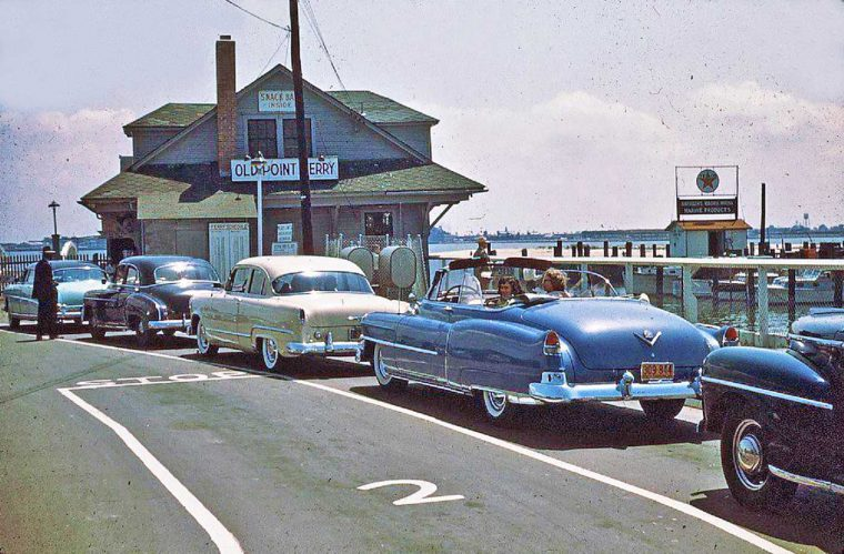The Old Point Ferry and Forties and Fifties Cars