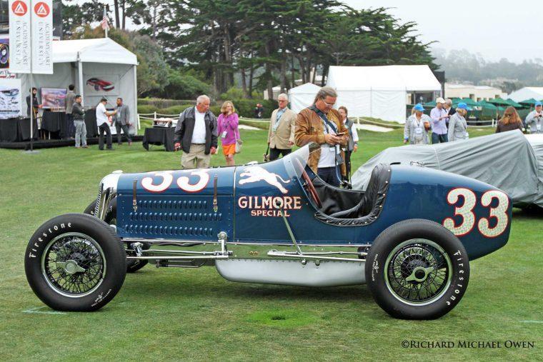 Two Man Indianapolis Racing Cars Star At Pebble Beach