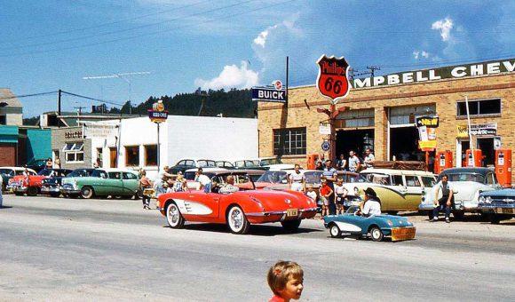 Cambell Chevrolet-Buick -Corvette Circa 1960