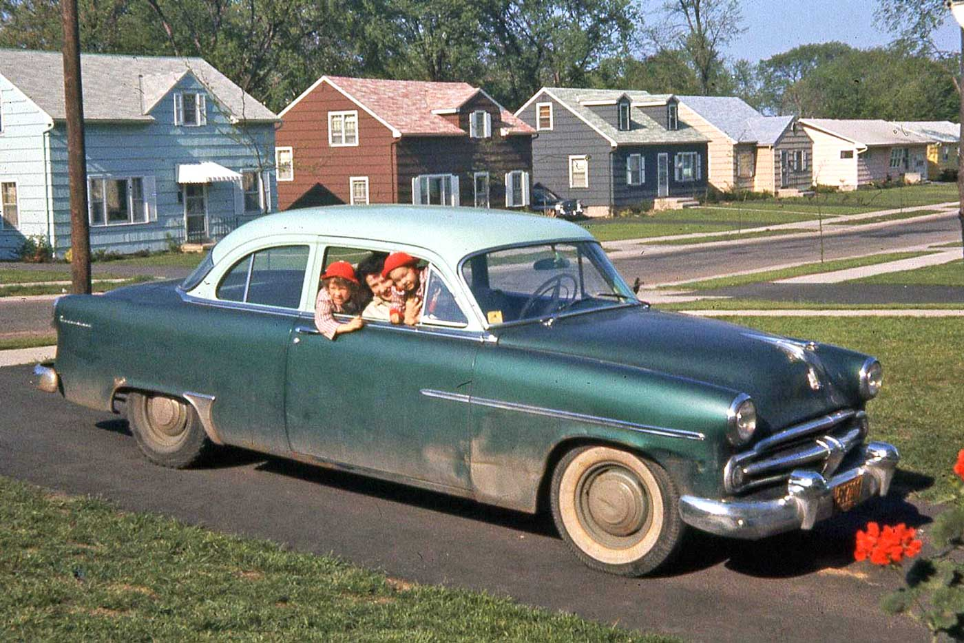 Four Fun Friday Forties And Fifties Kodachrome Car Images The