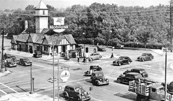 st-louis-big-bend-and-clayton-1930s-cars-mobilgas-station