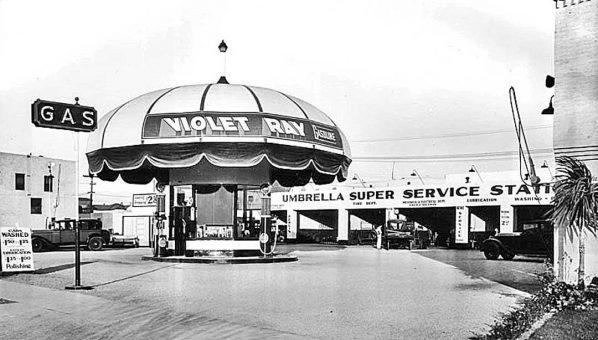 violet-ray-gasoline-station