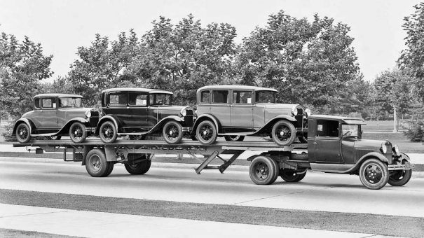 new-1930-model-a-fords-being-delivered